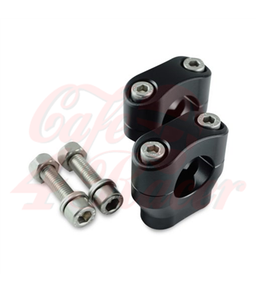 Risers 22mm   Height 32mm anodized black