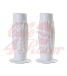 Handle bar grips white CR1