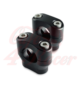 Risers 28.6mm  Height 32mm anodized black