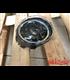 Oval Harley style Headlight Led Headlamps insert black Hallo ring DRL