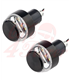 2PCS Motorcycle Handlebar LED Turn Signal Grip Bar End Lights  black