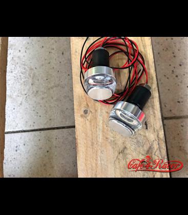 LED smerovky do rukovätí 2ks strieborné