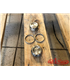 BMW Fork Nuts for 38,5mm Forks for Rebelmoto BMW Triple Tree Clamp or any other aftermarket triple tree 2pcs