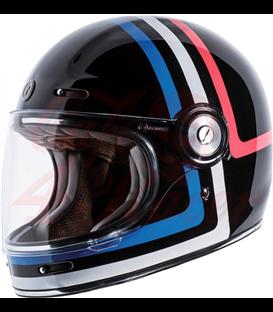 Biltwell TORC T-1 Full Face Helmet Americana Tron
