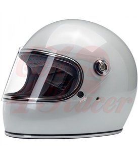 Biltwell Gringo S ECE Helmet Metallic Pearl White
