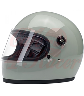 Biltwell Gringo S ECE Helmet Gloss Sage Green