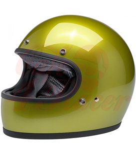 Biltwell Gringo ECE Helmet Metallic Sea Weed
