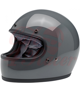 Biltwell Gringo ECE Helmet Gloss Storm Grey