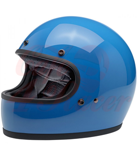 Biltwell Gringo ECE Helmet Gloss Tahoe Blue