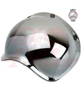 Biltwell Bubble Shield Chrome mirror Anti Fog