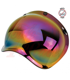 Biltwell Bubble Shield Rainbow Mirror Anti Fog
