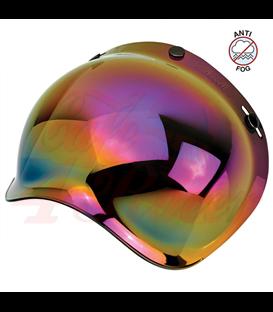 Biltwell Bubble Shield Rainbow Mirror Anti Fog
