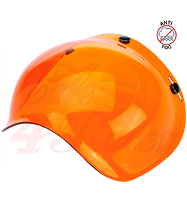Biltwell Bubble Shield Amber Solid Anti Fog