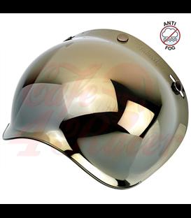 Biltwell Bubble Shield Gold Mirror Anti Fog