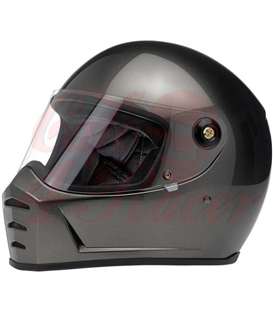 Biltwell Lane Splitter Helmet Full Face Flat Black