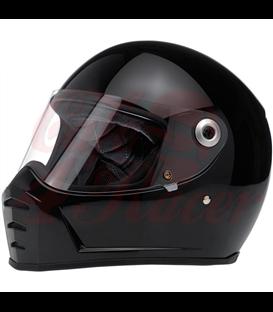 Biltwell Lane Splitter helma integrálna lesklá čierna