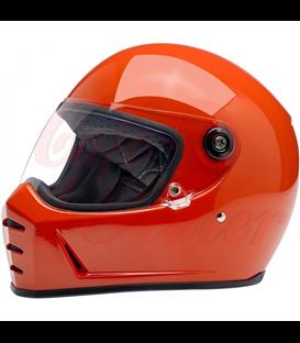 Biltwell Lane Splitter Helmet Gloss Tahoe Blue