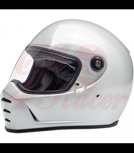 Biltwell Lane Splitter Helmet Gloss Hazard Orange