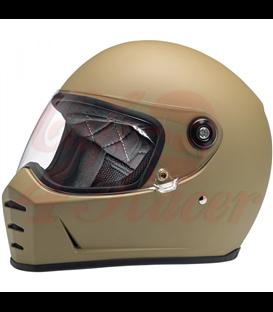 Biltwell Lane Splitter Helmet Metallic Olive