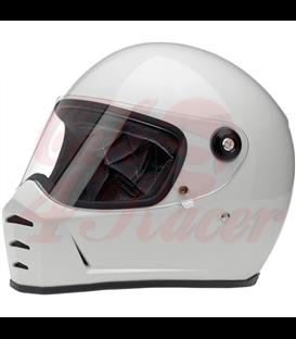 Biltwell Lane Splitter helma integrálna lesklá Storm Grey