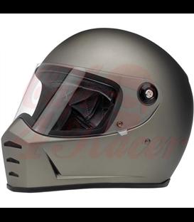 Biltwell Lane Splitter helma integrálna lesklá červená