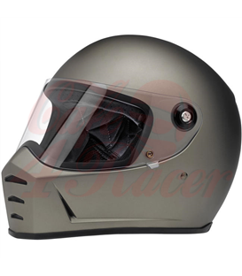 Biltwell Lane Splitter Helmet Full Face Gloss Blood Red