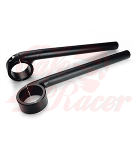 Rebelmoto Clip-Ons  Low Rise clip-ons 41.3mm BMW K series BLACK