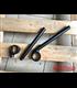 Rebelmoto Clip-Ons   Low Rise clip-ons 41.3mm BMW K series BLACK