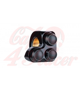 """Motogadget MO-Switch Mini  3 push button RIGHT side Black 22mm 7/8"""" or 1"""""""