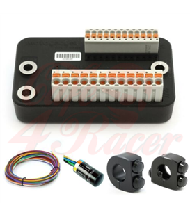 10% OFF Motogadget Set   M-UNIT Blue M-button Cable Kit Motogadget 2 & 3 Button Switches 7/8""