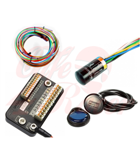 Motogadget Set  M-UNIT Blue M-button Cable Kit Motogadget 2 & 3 Button Switches 7/8""