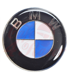 BMW Genuine Roundel Logo Emblem - 27mm with adhesive back