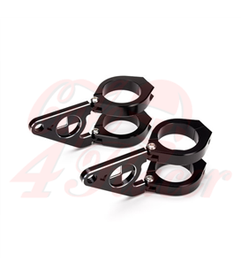 "Luxurious Headlight Brackets ""Beemer""  42/43mm"