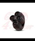 "Rebel switch 4 button – Black- 25,4mm 1"" Handlebar"