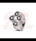 "Rebel switch 4  button – Polished 25,4mm 1"" Handlebar"
