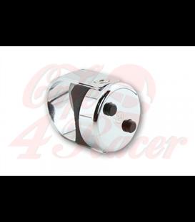 HIGHSIDER CNC CLASSIC frézovaný tlačidlový prepínač vhodný pre riadidlá 7/8 palca (22mm) alebo 1 palec (25,4mm) CHROME