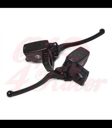 25mm Hydraulic Brake / Clutch Set - Black