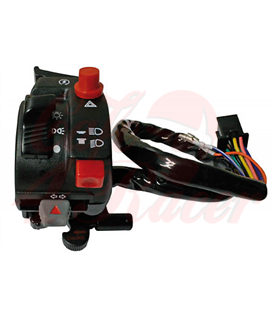 Uni handlebar switch HONDA with choke lever, for ATV + MRD, left