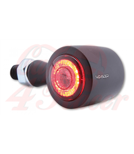 HIGHSIDER CNC LED 3in1 Rear, brake, indicator light ENTERPRISE-EP1 Red back