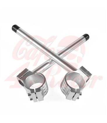 Universal clip-ons 41mm Silver