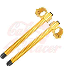 Universal clip-ons 41mm Gold
