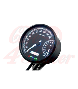 DAYTONA VELONA W, digital speedometer and rev counter
