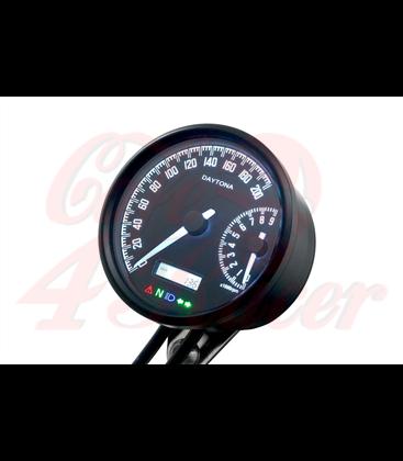 DAYTONA VELONA W, digital speedometer and rev counter