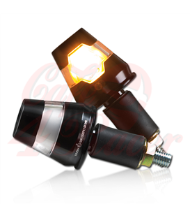 Handlebar LED turn signal  Conic ALU black