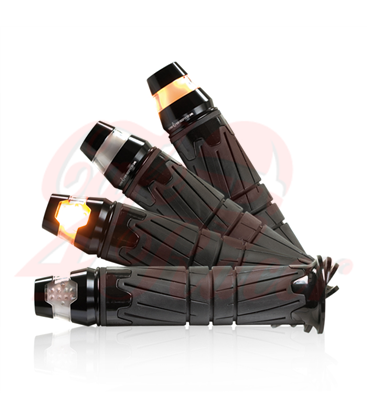 Handlebar LED turn signal  Conic ALU black