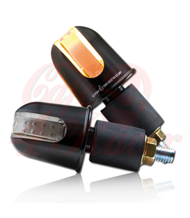 Handlebar LED turn signal  Rondo ALU black