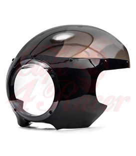 5.75'' Headlight Fairing Cafe Racer - Smoke