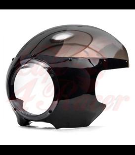 Univerzálna maska 7'' Cafe Racer  Fairing Smoke