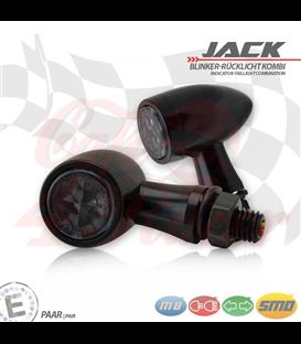 "SMD Led smerovky, brzdové svetlo / RL ""Jack""  3in1 čierne"