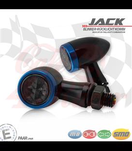 """SMD Led smerovky, brzdové svetlo / RL """"Jack""""  3in1 modré"""